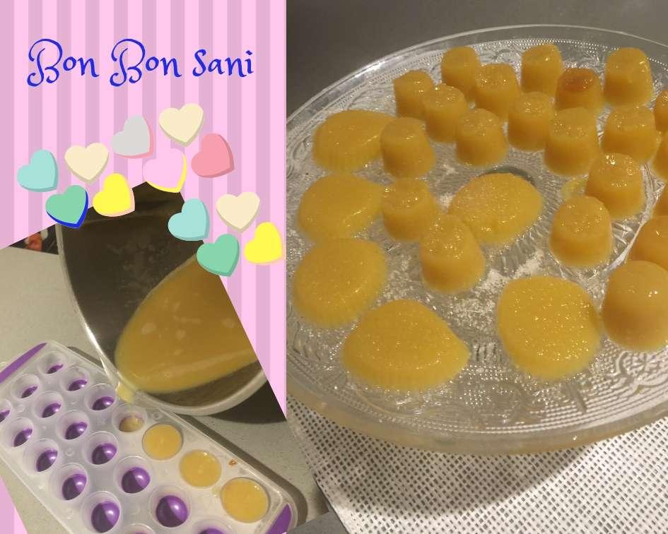 gelatina caramelle